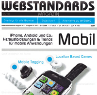 Cover Webstandards-Magazin- Heft 05/10